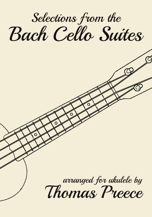Book cover: Selections from the Bach Cello Suites