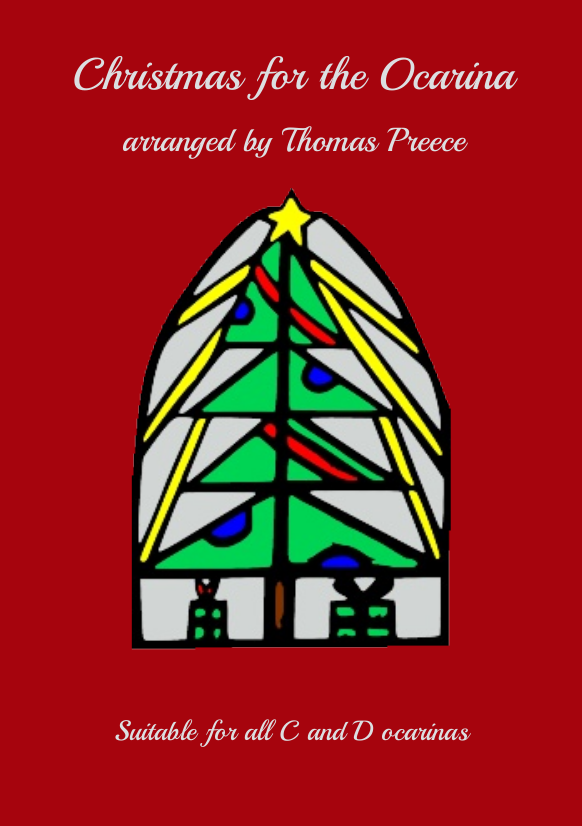 Book cover: Christmas for the Ocarina