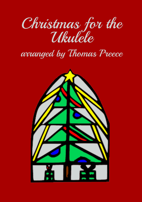 Book cover: Christmas for the Ukulele