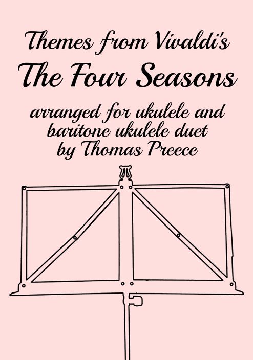 Book cover: Themes from Vivaldi's The Four Seasons